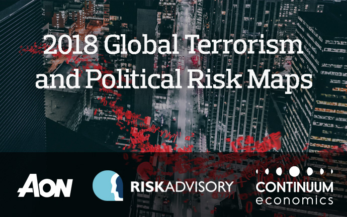 AON 2018 Global Terrorism and Political Risk Maps