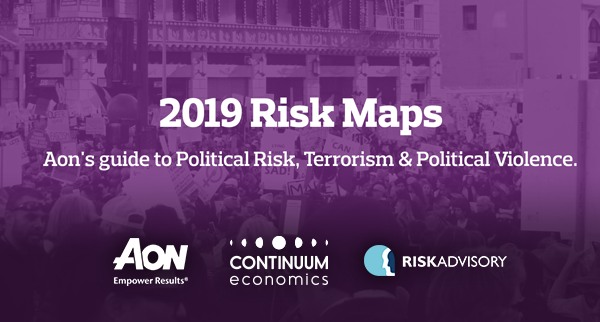 AON 2019 Global Terrorism and Political Risk Maps